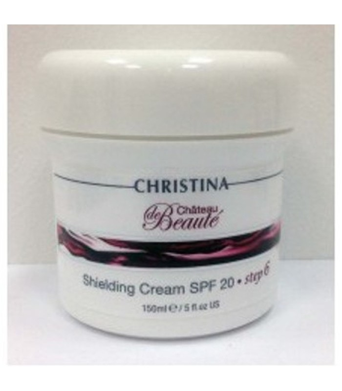 Shielding Cream - SPF-20 - Step 6 - Chateau de Beaute - Christina - 150 ml