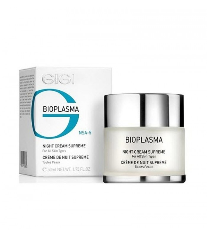 Night Cream Supreme - Bioplasma - GiGi - 50 ml
