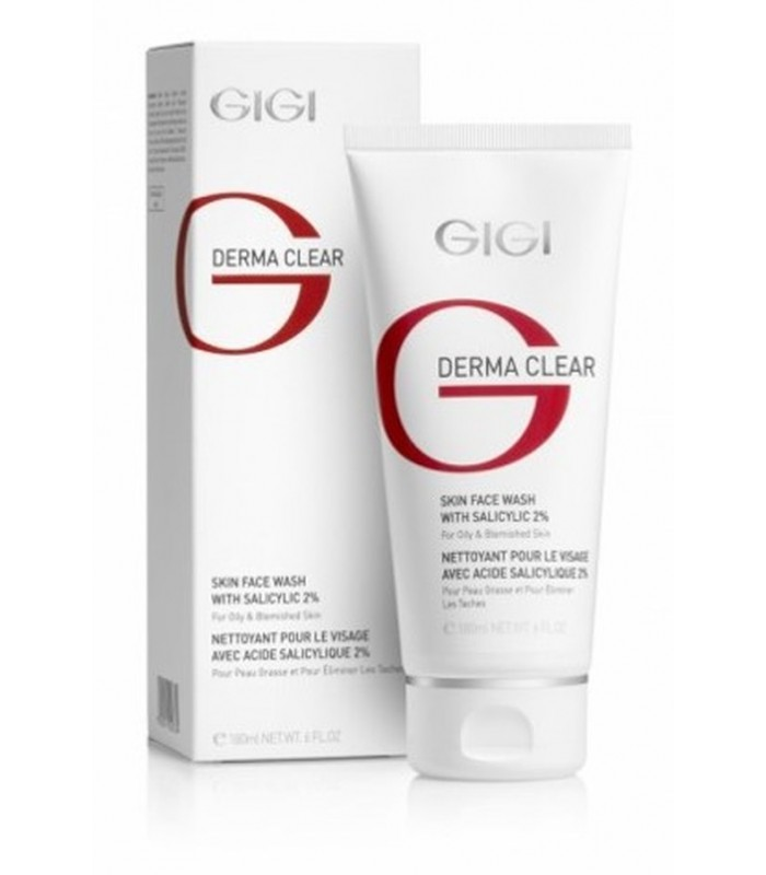 Skin Face Wash - with Salicylic Acid - Derma Clear - GiGi - 180 ml
