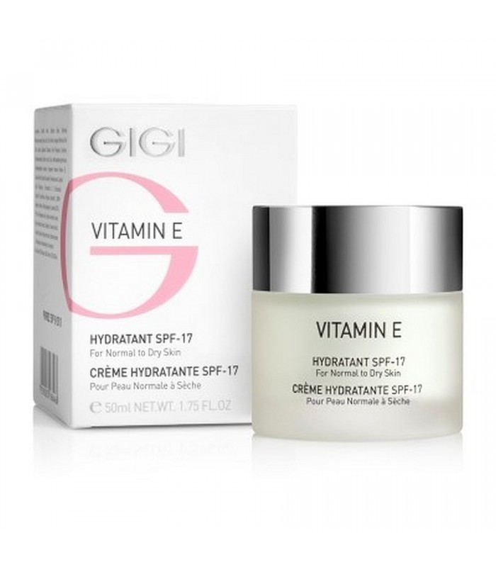Hydratant - Vitamin E - normal to dry Skin - GiGi - SPF-17 - 50 ml