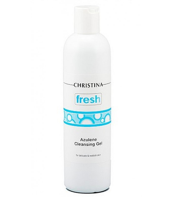 Cleansing Gel Azulene - Fresh - Christina - 300 ml
