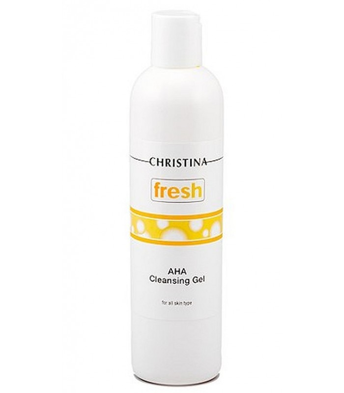 AHA - Cleansing Gel - Serie Fresh - Christina - 300 ml