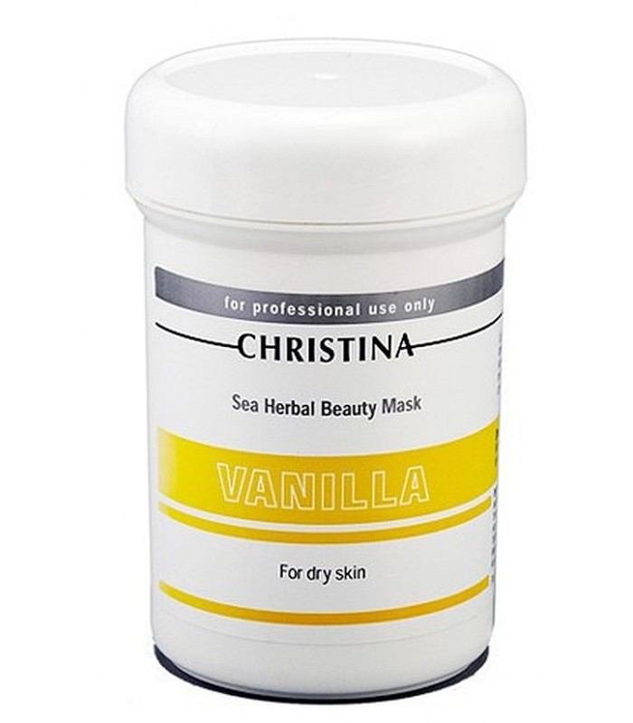 Vanilla Mask - fro dry Skin - Masks - Christina - 250 ml